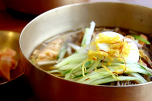 Jinju Naengmyeon(Cold Buckwheat Noodles)